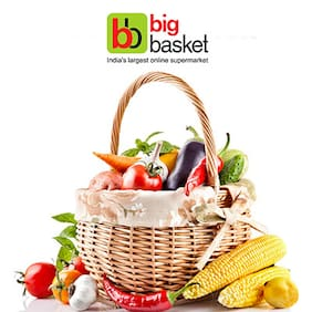 Up to Rs.700 cashback on Big Basket vouchers