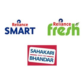 Upto Rs.15 Cashback on a minimum billing of Rs.250 when you pay using Paytm at Reliance Fresh , Reliance Smart and Sahakari Bhandar Stores