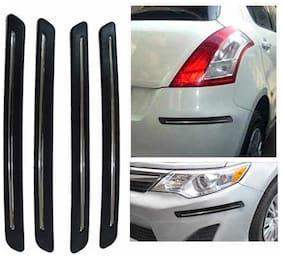 Hi Art Chrome Bumper Scratch Protectors For Hyundai Xcent