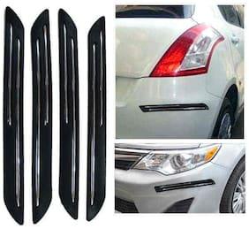 Hi Art Double Chrome Bumper Scratch Protectors For Chevrolet Beat