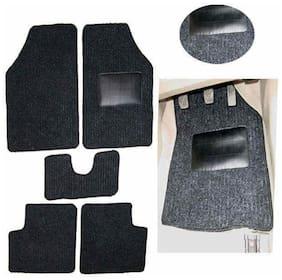 Hi Art Car Foot Mat Carpet Black For Maruti Old Alto