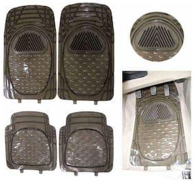 Hi Art Car Foot Mat Smoke Transparent For Maruti Alto K10