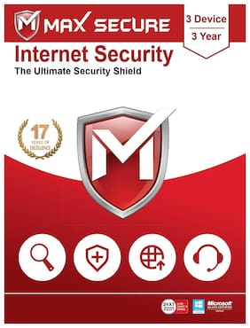 Max Secure Internet Security 3 user 3 year (Email delivery- No CD)