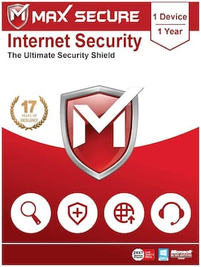 Max Secure Internet Security 1user 1 year (Email delivery- No CD)