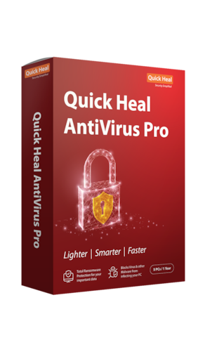 Quick Heal Anti virus pro (5 pc 1 year)-(Email Delivery in 2 hours- No CD)
