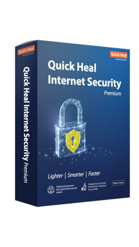 Quick Heal Internet security ( 10 Pc , 3 Yr ) Security Softwares