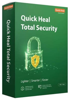 Quick Heal Total Security (1 Pc 1 Year)-(Email Delivery in 2 hours- No CD)