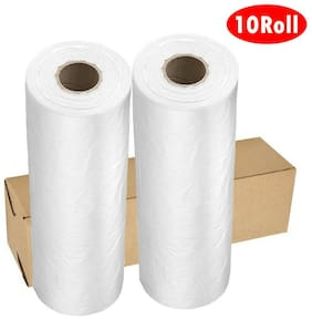 10 Roll 12 x 16 Clear Plastic Produce Bag Fruit Vegetable Food Storage 350/Roll