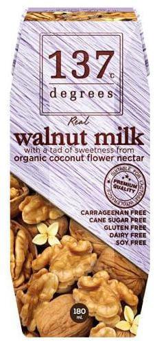 137 Degree Milk - Walnut Original 180 ml