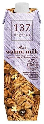 137 Degree Milk - Walnut Original 1 L