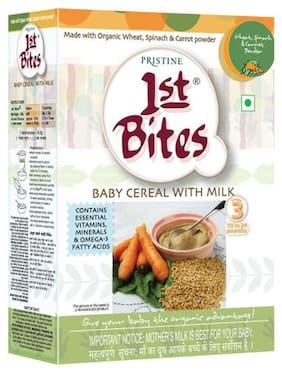 1St Bites Wheat  Spinach & Carrot Powder - Stage-3  10-24 Months 300 gm