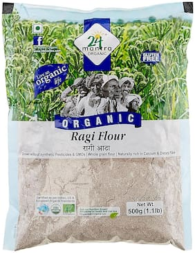 24 Mantra Organic Flour - Ragi 500 g