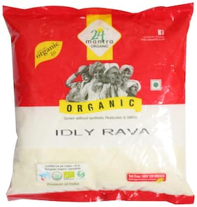 24 Mantra Organic Rava - Idly 500 g