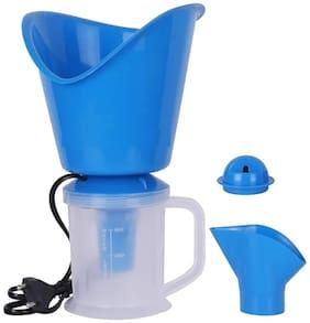 3 In 1 Steam Vaporizer - Inhaler Vaporizer for Cough, Cold, Nose vaporizer & Face Steamer Vaporizer  (Blue)
