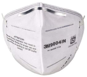 3M 9004 IN Air-purifying Respirator Face Mask with Earloop and Nose Pin Nose Pin (Pack of 2)
