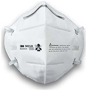 3M N95 9010 Anti Pollution Mask Niosh Approved (Pack Of 2)