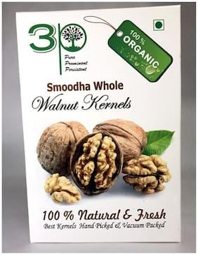 3P LIGHT WHITE BROKEN KASHMIRI WALNUT KERNELS DRY FRUITS 250g (Pack of 1@250g)(FOR BAKERY PURPOSE)