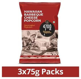 4700BC Hawaiian BBQ Cheese Popcorn Pouch 75g (Pack of 3)