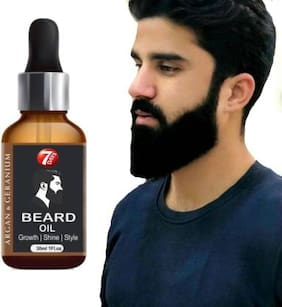 7 Days 100% Natural Beard Growth Oil- For Stimulating fast Beard Growth Hair Oil 30 ml (Pack Of 1)