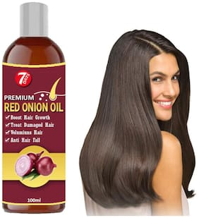 7 days Onion Hair Growth Oil With Black seed (For Men & Women) Hair Oil 100ml