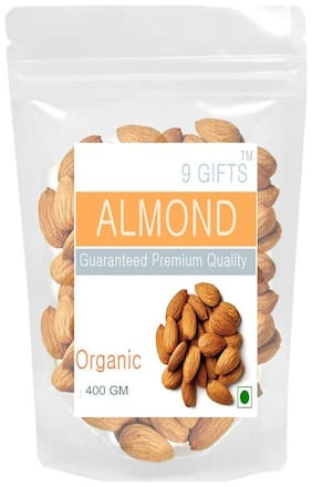 9 GIFTS Almond 400 Gm
