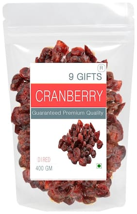 9 Gifts dried cranberry slice 400g