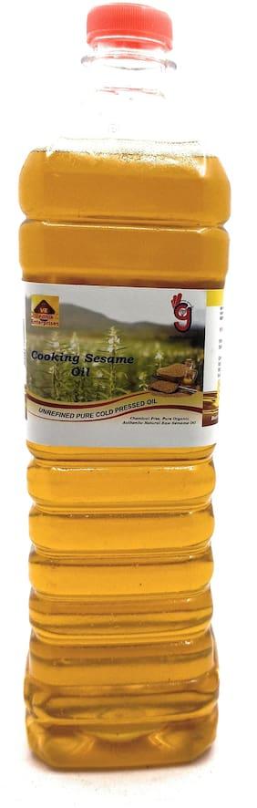 99Auth Genuine Impurities Free Cooking Sesame Oil 1 L