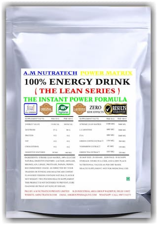 A.M Nutratech Energy Drink Lean Series - Vanilla - 908Gm