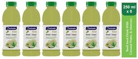 Aactuala Kiwi Basil Seed Drink 250ml (Pack Of 6 )