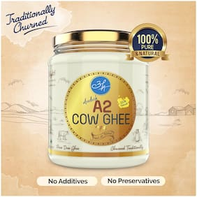 Aadvik A2 Cow Ghee   500ml   Traditionally Churned   100% Pure & Natural