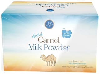 Aadvik Camel Milk Powder 20G X 10 (Freeze Dried, No Additives, No Preservatives) 200 g.