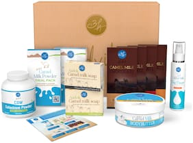 Aadvik Gift Pack  Camel Milk Products With Colostrum Powder