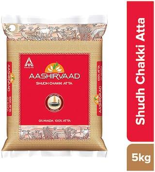Aashirvaad Atta - Whole Wheat 5 kg