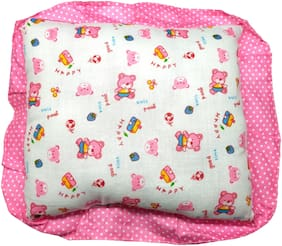 Aayat Kids Comfort Relax Baby Head Shaping Pillow (Pink) Pack of 1 Model NB28