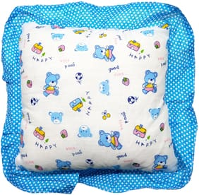 Aayat Kids Comfort Relax Baby Head Shaping Pillow (Blue) Pack of 1 Model NB29