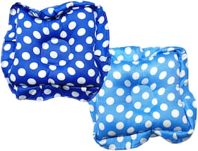 Aayat Kids Comfort Relax Baby Head Shaping Pillow (Turquoise Blue;Blue)Pack of 2 Model NB15