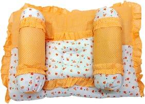 Aayat Kids Set of 4 Premium Heart Printed Multi Bedding Set Model A1