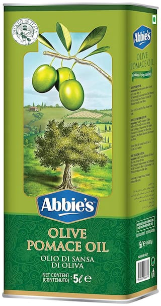 Abbie's  Pomace Olive Oil for Cooking with Goodness of 15% Extra Virgin Olive Oil 5 L