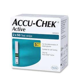Accu-Chek Active 100 Test Strips (Pack Of 1)