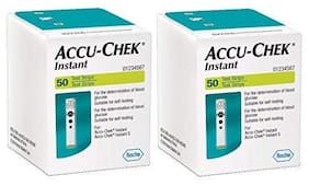 Accu-Chek Instant Test Strips - 50 Count (Pack 2)