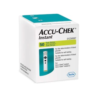 Accu-Chek Instant S 50 Glucometer Strips (Pack Of 1)