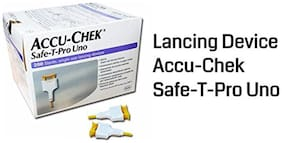 Accu-Chek Safe-T-Pro Uno Lancing Devices (Multicolor)