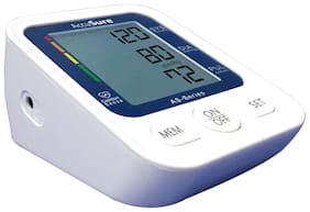 AccuSure AS Series Automatic and Advance Feature Blood Pressure Monitoring System (White)