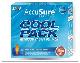 Accusure Gel Based Cold Pack For Pain Relief