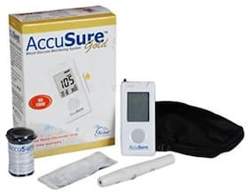 Accusure Gold Meter;25 Test Strips (Pack of 1)