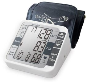 AccuSure TK Bp Monitor  (White)