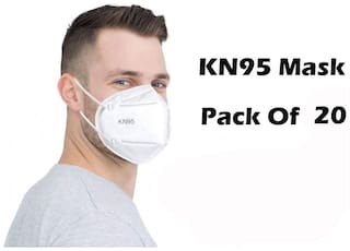 ACE N KING KN95 Anti-Pollution Activated Carbon Protection Face Mask - Pack Of 20