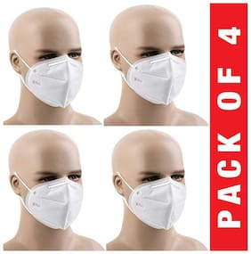 Ace N King KN95 Anti-Pollution Activated Carbon Virus Protection Face Mask Pack Of 4