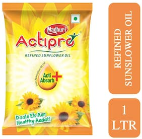 Actipro High Oleic Refined Sunflower Oil 1L Pouch (Pack of 1)
