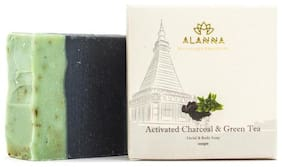 Activated Charcoal & Green Tea Handmade Coldprocessed Soap